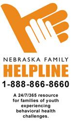 Nebraska Family Helpline logo